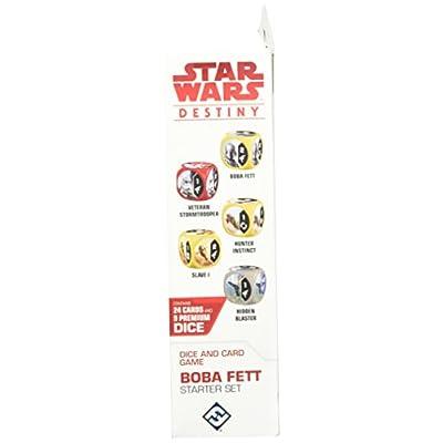 Star Wars Destiny: Boba Fett Starter Set: Toys & Games