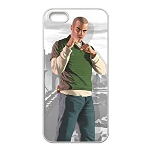 grand theft auto iv iPhone 5 5s Cell Phone Case White xlb2-372673