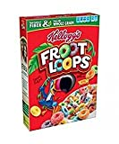 Kellogg's Froot Loops Natural Fruit Flavor 12.2 Oz. Pack Of 3.