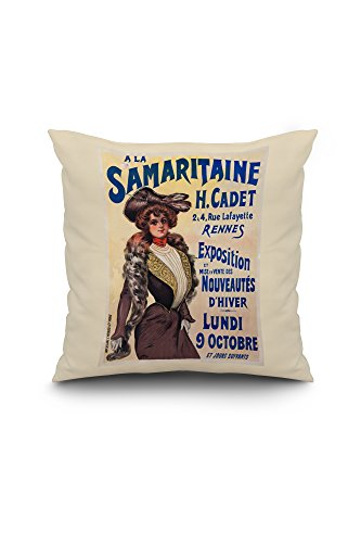a-la-samaritaine-vintage-poster-france-18x18-spun-polyester-pillow-white-border