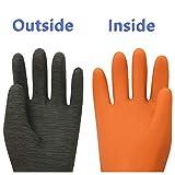 ThxToms Heavy Duty Rubber Gloves, Versatile Latex