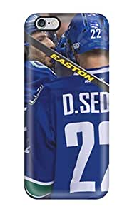 Tony Diy Fashionable Design Vancouver Canucks auDNqKs0FqF Rugged case cover For Iphone 6 Plus New