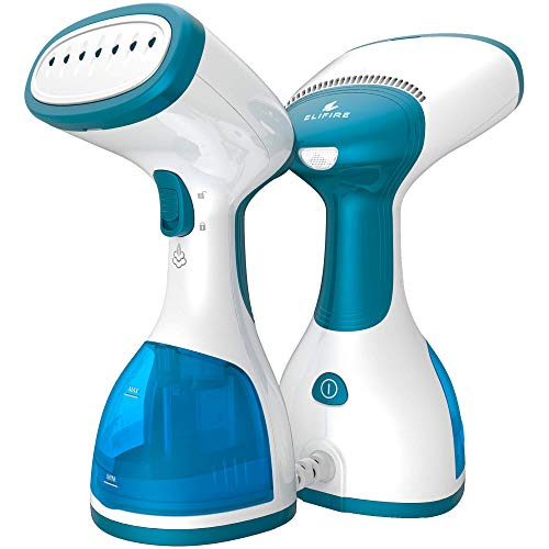 ELIFIRE - Steamer for Clothes - Garment Steamer and Iron - Clothing Mini Steamer for Travel and Home - Handheld Fabric Portable Steamer - Newest Hand Held Clothes Steamer by ELIFIRE