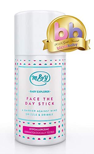 Stick Baby Face The Day di Mum & You con oli di cocco, cera d'api e burro di karité, per prendersi cura della pelle in modo naturale. Proteggi il viso del tuo bambino da pelle irritata.