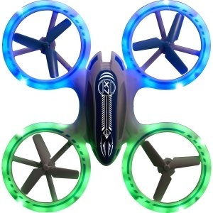 Odyssey X-7 Microlite Flyer RC Drone - 5.7in.L x 5.7in.W x 1.5in.H
