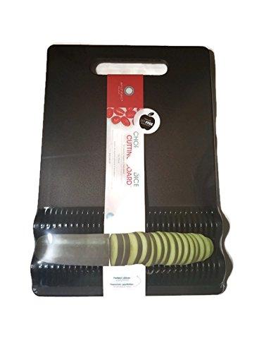 Architec Chop-Slice-Dice Cutting Board, BPA-free Plastic, Di
