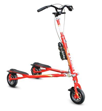 Trikke T8 Sport Scooter, Red - Colt Disc Brake
