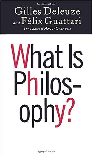 Amazon.com: What Is Philosophy? (9780231079891): Gilles Deleuze, Felix  Guattari, Hugh Tomlinson, Graham Burchell: Books