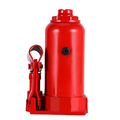 Hydraulic Bottle Jack, 8 Ton Capacity Red Portable Heavy Duty Hydraulic Jack Automotive Lifter for Car Caravan Tractors Truck by Yosooo (Image #2)