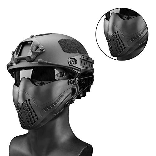 332PageAnn Masque Tactique extérieur Système de Bandeau à Deux Modes, Masque de Protection Tactique Visage Inférieure… 3