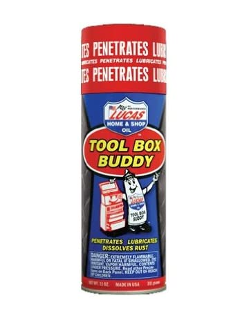 Lucas Oil 10392-12PK Aerosol Penetrant/Tool Box Buddy - 11 oz, (