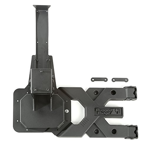 Rugged Ridge Heavy Duty Tire Carrier for Jeep Wrangler JK