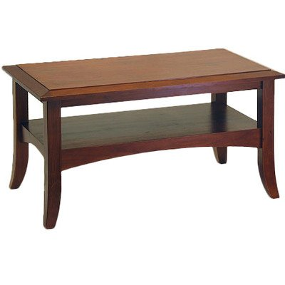 Charlton Home Ballenton Coffee Table, Antique walnut