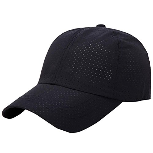 Price comparison product image HTHJSCO Classic Cotton Dad Hat Adjustable Plain Cap, Unisex Unstructured Cotton Cap Adjustable Plain Hat Dad Cap (Navy E)