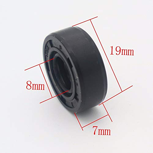 Wearable Breadmaker Sorbet Machine blender accessories Repair Parts 19mm8mm7m Oil Seal Ring for lg samsung Philips. ()