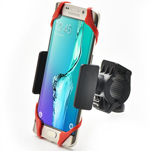 Bestrix Bike & Motorcycle Cell Phone Bike Handlebar Mount Holder for Mountain...