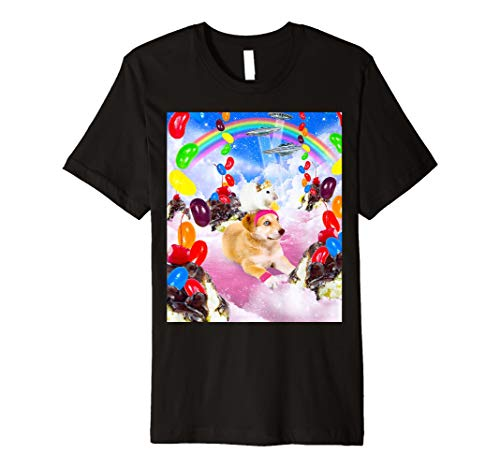 Mouse Riding Dog With Sundae And Jelly Beans T-Shirt