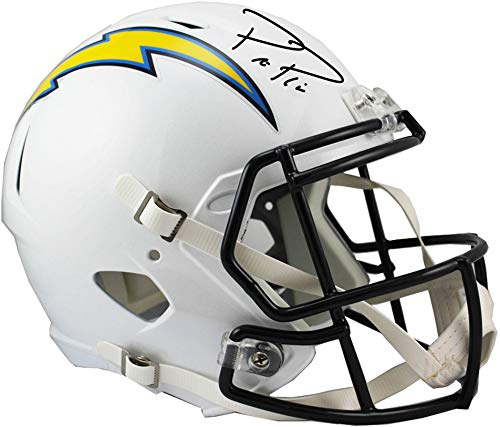 Philip Rivers Los Angeles Chargers Autographed Riddell Speed Replica Helmet - Fanatics Authentic Certified