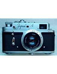 Zorki 4 USSR Soviet Union Russian rangefinder camera with Industar 50 50mm f/3.5