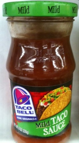 Taco Bell, Mild Taco Sauce, 8 Oz (Pack of 2)