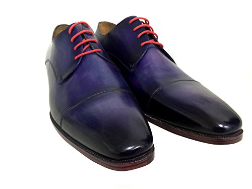 Oscar William Blue Pembroke Gardens Men's Luxury Classic Leather - Of Pembroke Shops Gardens