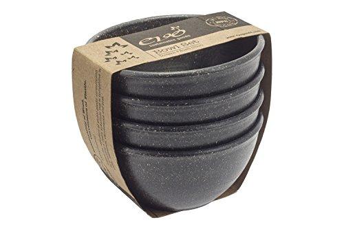 EVO Sustainable Goods 10 oz. Bowl Set, Black ()