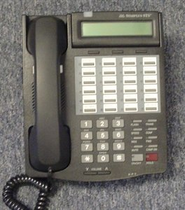 Vodavi STS 3515-71 Vertical Starplus Phone- (Charcoal Display Speakerphone)
