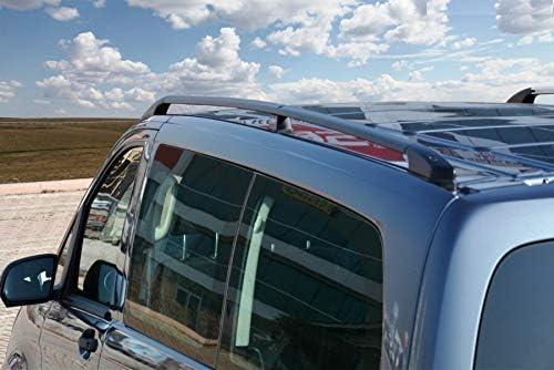 Barras de Techo aptas para Mercedes Clase V Compact W447 a Partir de a/ño de construcci/ón 2014 en Negro con T/ÜV y Abe.