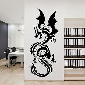 Iconic Stickers - Chinese Large Dragon Animal Wall Decor Art Sticker ...