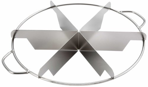 Winco SCU-6 6 Slices Pie Cutter, 10-Inch