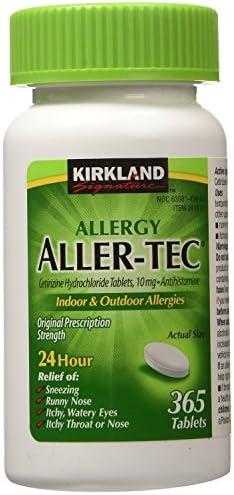 Kirkland Signature Aller Tec Cetirizine Hydrochloride