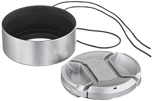 (Fotasy H37S 37mm Screw-in Metal Lens Hood Shade for Olympus M.ZUIKO DIGITAL 45mm 1:1.8)