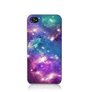 LJF phone case S9Q Nebula Galaxy Space Universe Vintage Retro Snap On Hard Case Cover Back Skin Protector For Apple iphone 4/4s Style F