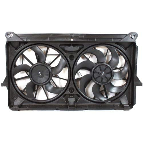 Sunbelt Radiator And Condenser Fan For GMC Sierra 2500 HD Chevrolet GM3115212 Drop in Fitment