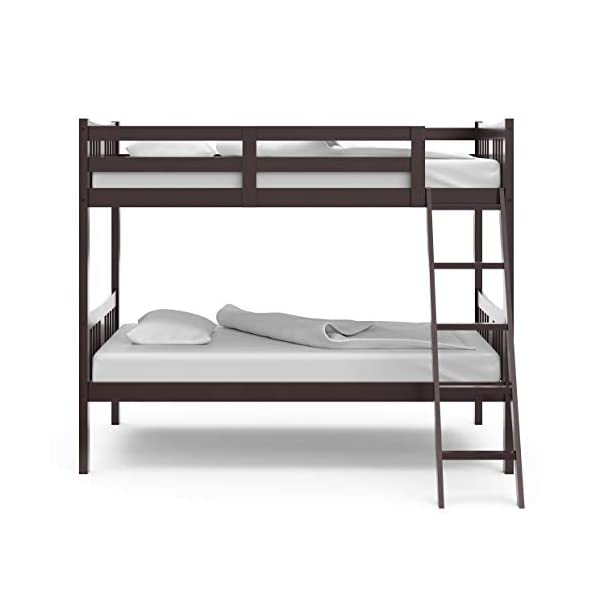 Storkcraft Caribou Solid Hardwood Twin Bunk Bed 4