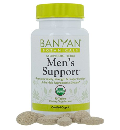 Banyan Botanicals Men's Support - USDA Certified Organic - 90 tablets - Men's Health Supplement for Natural - Prostate Botanical Support