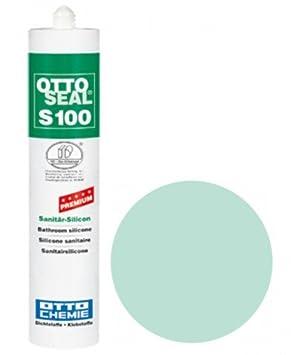 OttoSeal S100, das Premium- Sanitä r- Silicon, 300ml Farbe: C1010 GRAUROT Otto Chemie