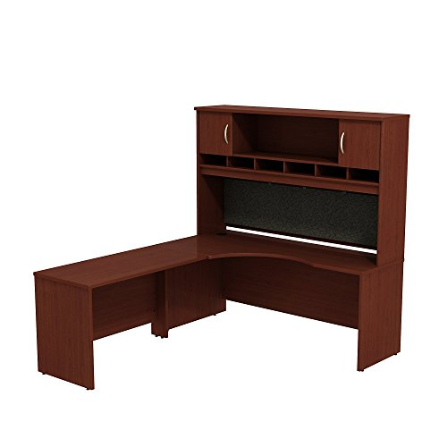 Series C 72w Left Hand Corner L Desk With 72w 2 Door Hutch
