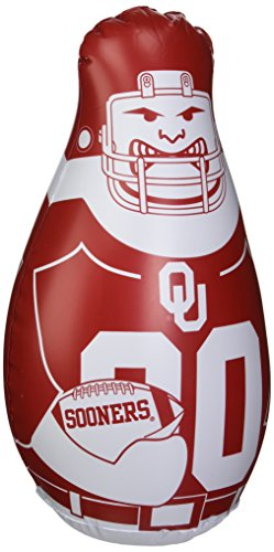 Pop Up Dummy - Fremont Die NCAA Oklahoma Sooners Unisex Mini Bop Bag, Black, One Size