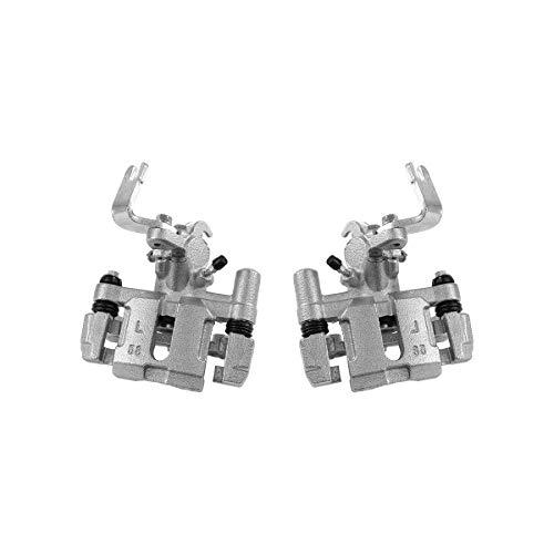 CCK02452 [ 2 ] REAR Premium Grade OE Semi-Loaded Caliper Assembly Pair Set