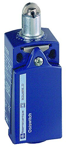 (Telemecanique XCKP OsiSense XC Standard Limit Switch, 1 NO and 1 NC Snap-Action Silver Contacts, Steel Top Roller Plunger, PG 11 Conduit Threads, Metal Body by Telemecanique)