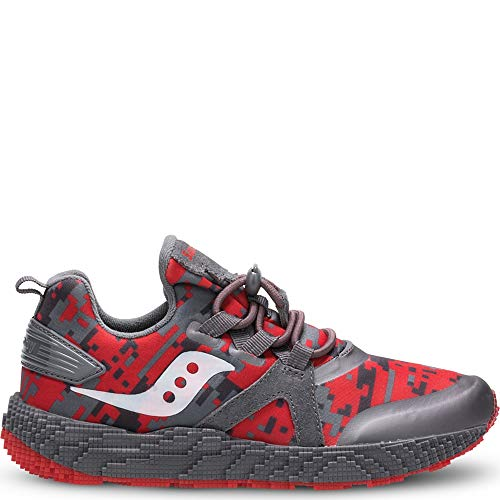 9000 Sneaker Grey/red 5.5 Medium US Big Kid ()