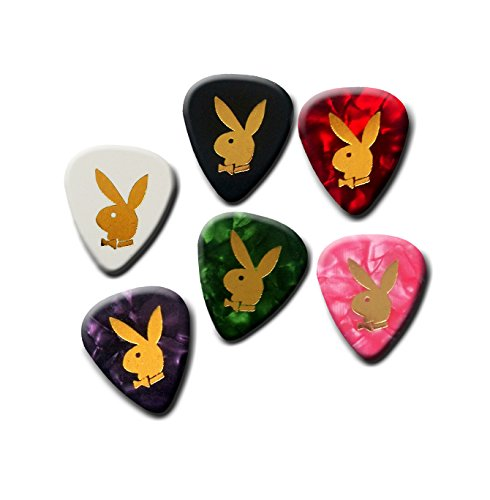 Playboy pick plectrum set of 6 medium gauge 0.71mm #3