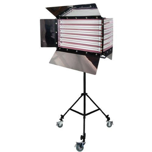 LimoStudio Photo Studio 550W Digital Light Fluorescent 6-Bank Barndoor Light Panel, AGG1010 by LimoStudio