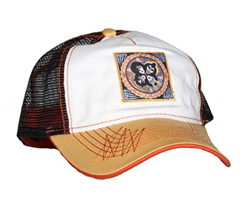 Kiss Official Rock and Roll Over Mesh Back Trucker Hat Adjustable Cap