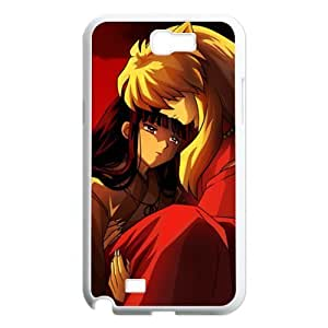 Custom Inuyasha Hard Back Cover Case for Samsung Galaxy Note 2 NT469 by ruishername