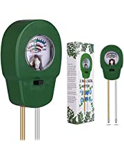 COOYA Soil Moisture Meter, Soil Fertility Tester 3-in-1 Plant Water Meter Fertility and PH Tester for Home, Garden, Lawn, Farm, Indoor and Outdoor Use, Promote Plants Healthy Growth, No Battery Needed
