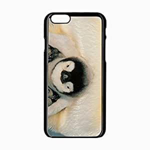 iPhone 6 Black Hardshell Case 4.7inch penguins penguin chick Desin Images Protector Back Cover