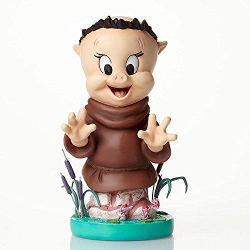 Enesco Grand Jester Studios Porky Pig As Friar Tuck Stone Resin Merrie Melodies Figurine