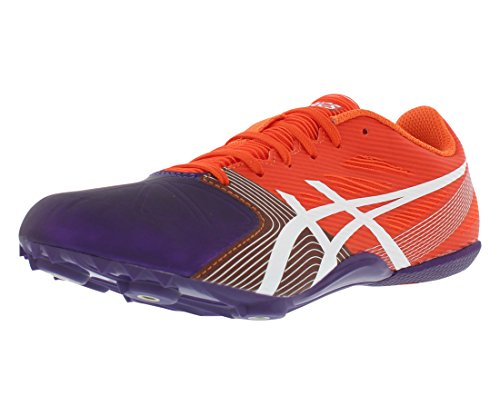 ASICS Women's Hyper-Rocketgirl SP 6 Cross Country Spike Shoe, Orange/White/Dark Purple, 8.5...